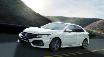 Honda Civic blanco