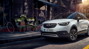 Lateral Opel Crossland x