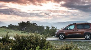 Peugeot Rifter marrón