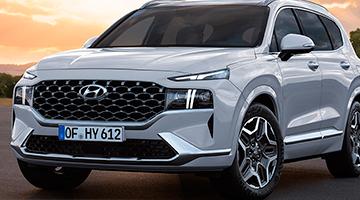 Hyundai Santa Fe plateado