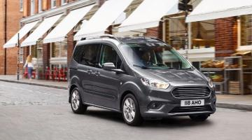 Ford Tourneo Courier gris