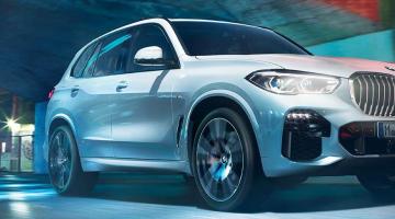 BMW X5 blanco