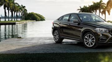 BMW X6 negro