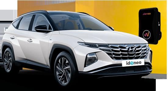 Hyundai TUCSON PHEV TGDI 1.6 265CV 4X4 AT TECNO SKY de renting